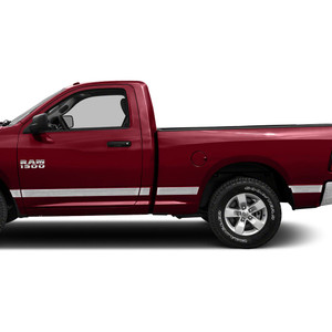 Diamond Grade | Side Molding and Rocker Panels | 09-18 Dodge Ram 1500 | SRF0948