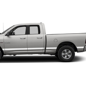 Diamond Grade | Side Molding and Rocker Panels | 09-18 Dodge Ram 1500 | SRF0950