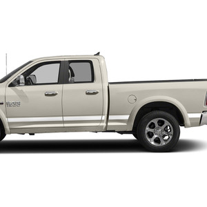 Diamond Grade | Side Molding and Rocker Panels | 09-18 Dodge Ram 1500 | SRF0951