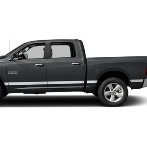 Diamond Grade | Side Molding and Rocker Panels | 09-18 Dodge Ram 1500 | SRF0952