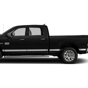 Diamond Grade | Side Molding and Rocker Panels | 09-18 Dodge Ram 1500 | SRF0953