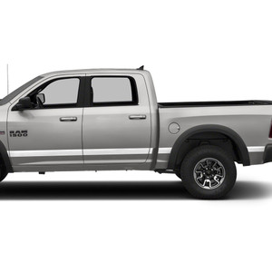 Diamond Grade | Side Molding and Rocker Panels | 09-18 Dodge Ram 1500 | SRF0954