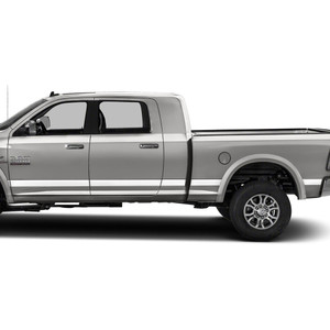 Diamond Grade | Side Molding and Rocker Panels | 09-18 Dodge Ram 1500 | SRF0957
