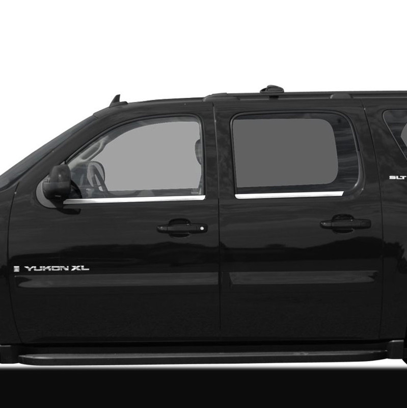 2007-2014 Chevrolet Avalanche Suburban Yukon XL Stainless Steel Fender Trim