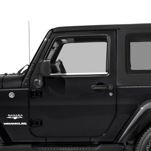 Diamond Grade | Window Trim | 07-18 Jeep Wrangler | SRF1166