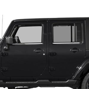 Diamond Grade | Window Trim | 07-18 Jeep Wrangler | SRF1167