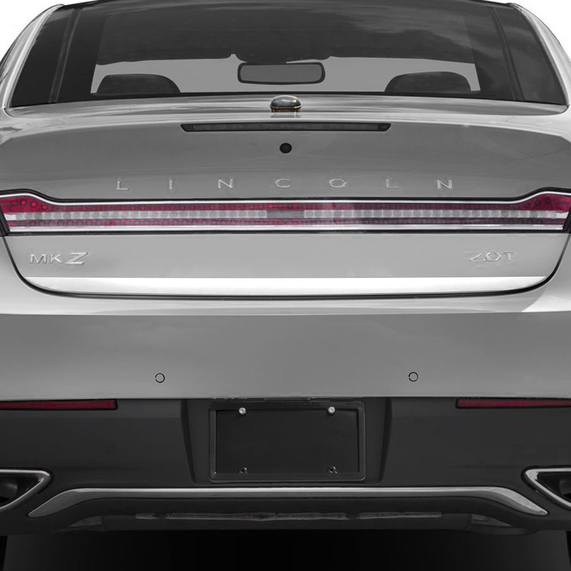 2006-2012 Lincoln MKZ Trunk Lower Trim Accent Chrome Stainless Steel 3/""