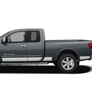 Diamond Grade | Side Molding and Rocker Panels | 04-15 Nissan Titan | SRF1207
