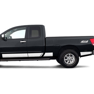 Diamond Grade | Side Molding and Rocker Panels | 04-15 Nissan Titan | SRF1208