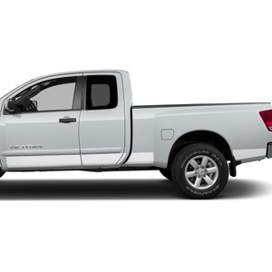 Diamond Grade | Side Molding and Rocker Panels | 04-15 Nissan Titan | SRF1209