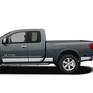 Diamond Grade | Side Molding and Rocker Panels | 04-15 Nissan Titan | SRF1210