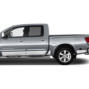 Diamond Grade | Side Molding and Rocker Panels | 04-15 Nissan Titan | SRF1211