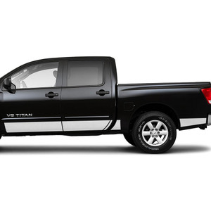 Diamond Grade | Side Molding and Rocker Panels | 04-15 Nissan Titan | SRF1214