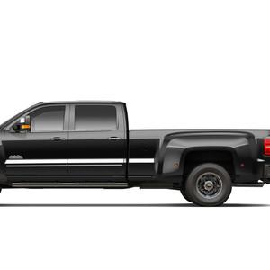 Diamond Grade | Side Molding and Rocker Panels | 14-18 Chevrolet Silverado 1500 | SRF0899