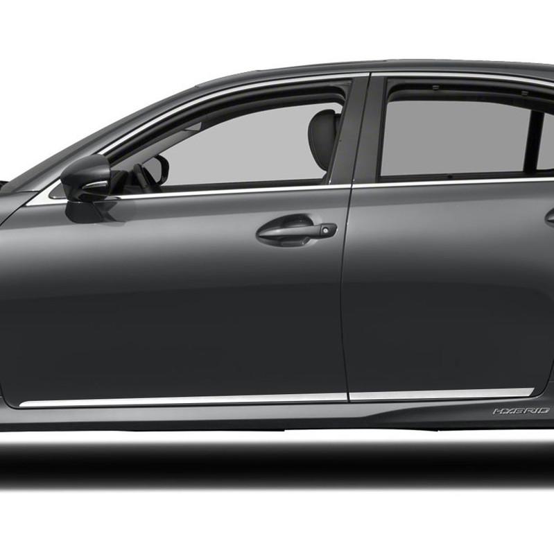 Upgrade Your Auto 4pc 3//4-1 1//4 Lower Accent Trim for 2013-2018 Lexus ES
