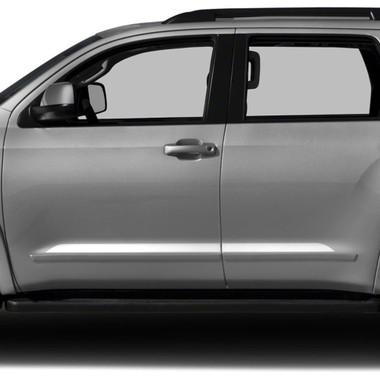Diamond Grade   Side Molding and Rocker Panels   07-18 Toyota Sequoia   SRF1241