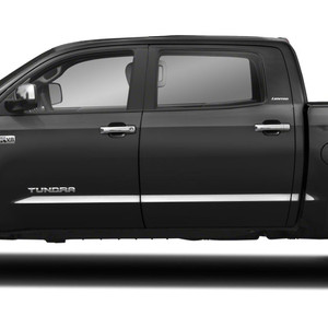 Auto Reflections 4pc 1 1//2 Generic Side Molding for 2007-2018 Toyota Tundra Crew Cab