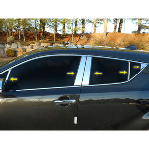 Luxury FX   Pillar Post Covers and Trim   97-01 Toyota Camry   LUXFX3616