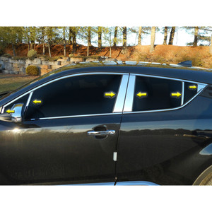 Luxury FX   Pillar Post Covers and Trim   97-01 Toyota Camry   LUXFX3617