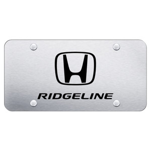 AUtomotive Gold   License Plate Covers and Frames   AUGD8757