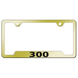 AUtomotive Gold | License Plate Covers and Frames | AUGD8780