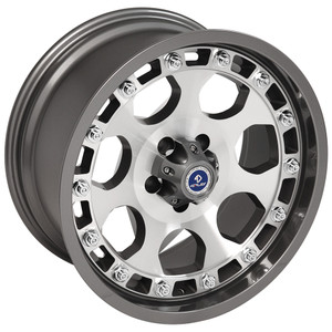 Upgrade Your Auto | 18 Wheels | 87-06 Jeep Wrangler | OWH5934