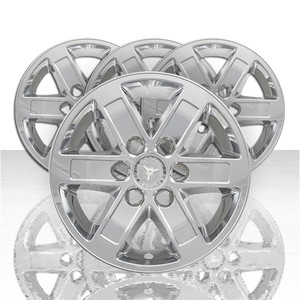 "2009-2014 GMC Savana 1500 Chrome Wheel Skins Hubcaps 17/"" Set of 4"