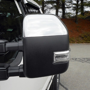 Luxury FX | Mirror Covers | 17-19 Ford Super Duty | LUXFX3765