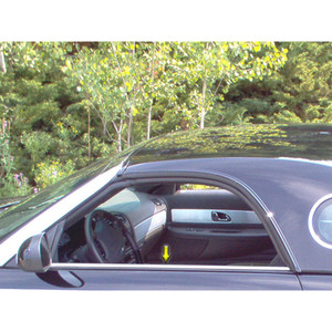 Luxury FX | Window Trim | 02-06 Ford Thunderbird | LUXFX3715