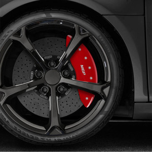 Caliper Covers Set of 4 Engraved 'MGP' for 2019 Nissan Armada