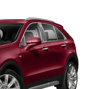 Diamond Grade 10p Stainless Steel Pillar Post Covers for 2019 Cadillac XT4