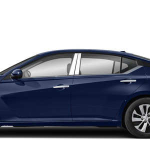 Diamond Grade 4p Stainless Steel Pillar Post Covers for 2019 Nissan Altima