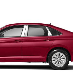 Diamond Grade 8p Stainless Steel Pillar Post Covers for 2019 Volkswagen Jetta