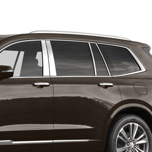 Brite Chrome | Pillar Post Covers and Trim | 20 Cadillac XT6 | BCIP337