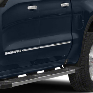 Stainless Steel Body Side Molding Below Body Line for 2019-2021 GMC Sierra 1500 Crew Cab 4 Pieces
