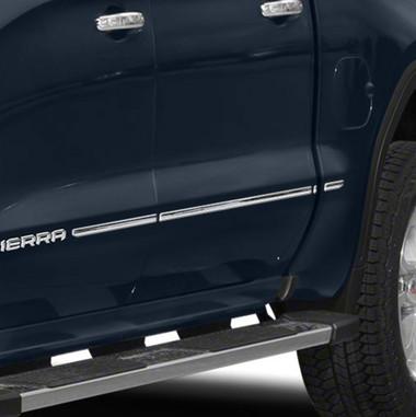 Brite Chrome | Side Molding and Rocker Panels | 19-20 GMC Sierra 1500 | BCIR114