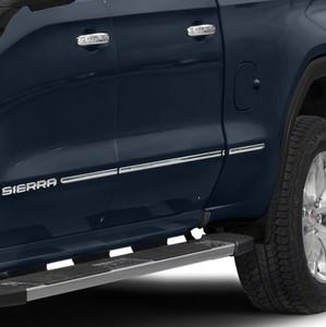 Brite Chrome | Side Molding and Rocker Panels | 19-20 GMC Sierra 1500 | BCIR118