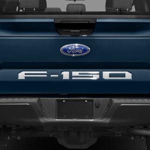 Brite Chrome | Rear Accent Trim | 18-19 Ford F-150 | BCIX005