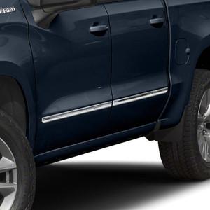 Brite Chrome | Side Molding and Rocker Panels | 19-20 Chevrolet Silverado 1500 | BCIR099
