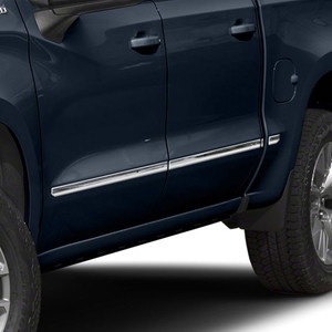 Brite Chrome | Side Molding and Rocker Panels | 19-20 Chevrolet Silverado 1500 | BCIR101