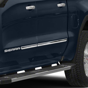 Brite Chrome | Side Molding and Rocker Panels | 19-20 GMC Sierra 1500 | BCIR113