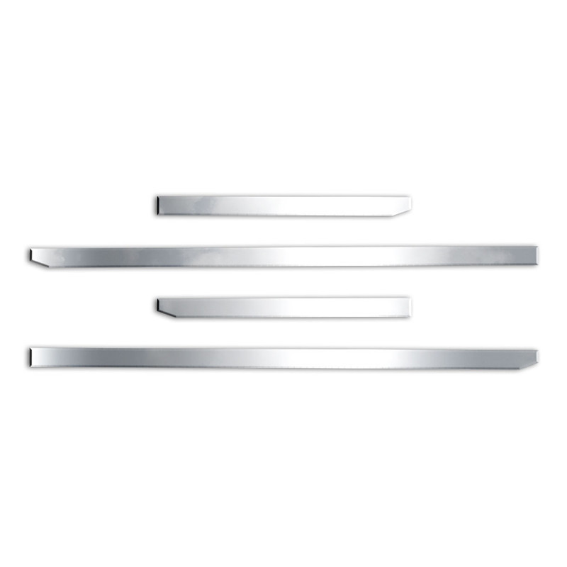 """Stainless Body Side Molding for 2019-20 Sierra 1500 Crew Cab 5/'8/"""" Bed 1 1//2/"""" 8pc"""