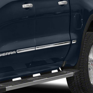 Brite Chrome | Side Molding and Rocker Panels | 19-20 GMC Sierra 1500 | BCIR115