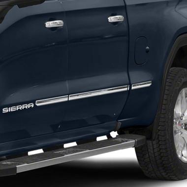 Brite Chrome | Side Molding and Rocker Panels | 19-20 GMC Sierra 1500 | BCIR119