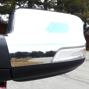 Luxury FX | Mirror Covers | 19 Dodge RAM 1500 | LUXFX3766