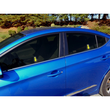 Luxury FX | Window Trim | 17-19 Hyundai Elantra | LUXFX3879