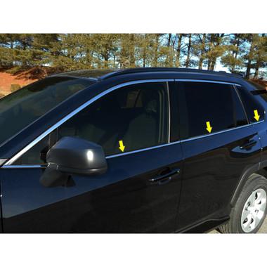 Luxury FX | Window Trim | 19 Toyota Rav4 | LUXFX3880