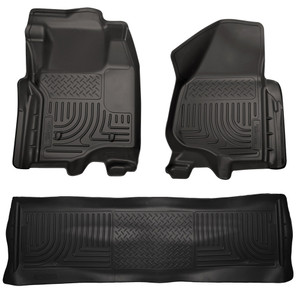 Husky Liners | Floor Mats | 11-12 Ford Super Duty | HUS1386