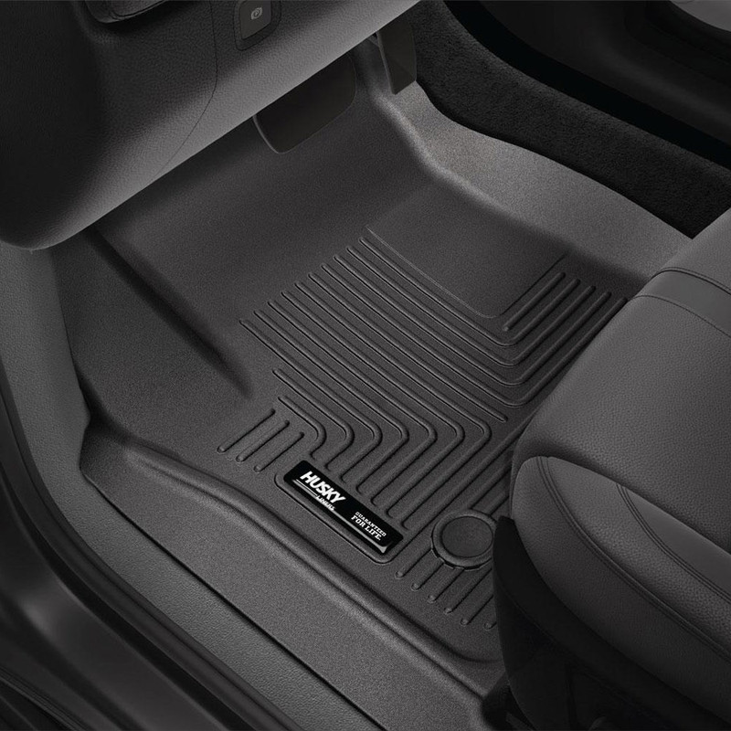 Husky Tan Front /& 2nd Row Seat Floor Liners for 2015-2019 Tahoe and Yukon