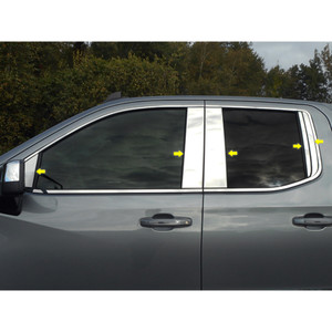 Luxury FX   Pillar Post Covers and Trim   19-20 Chevrolet Silverado 1500   LUXFX3899